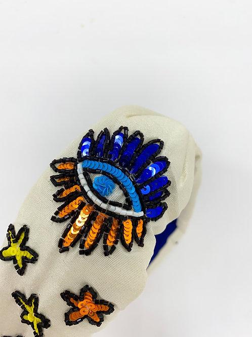 Greek Eye Headband