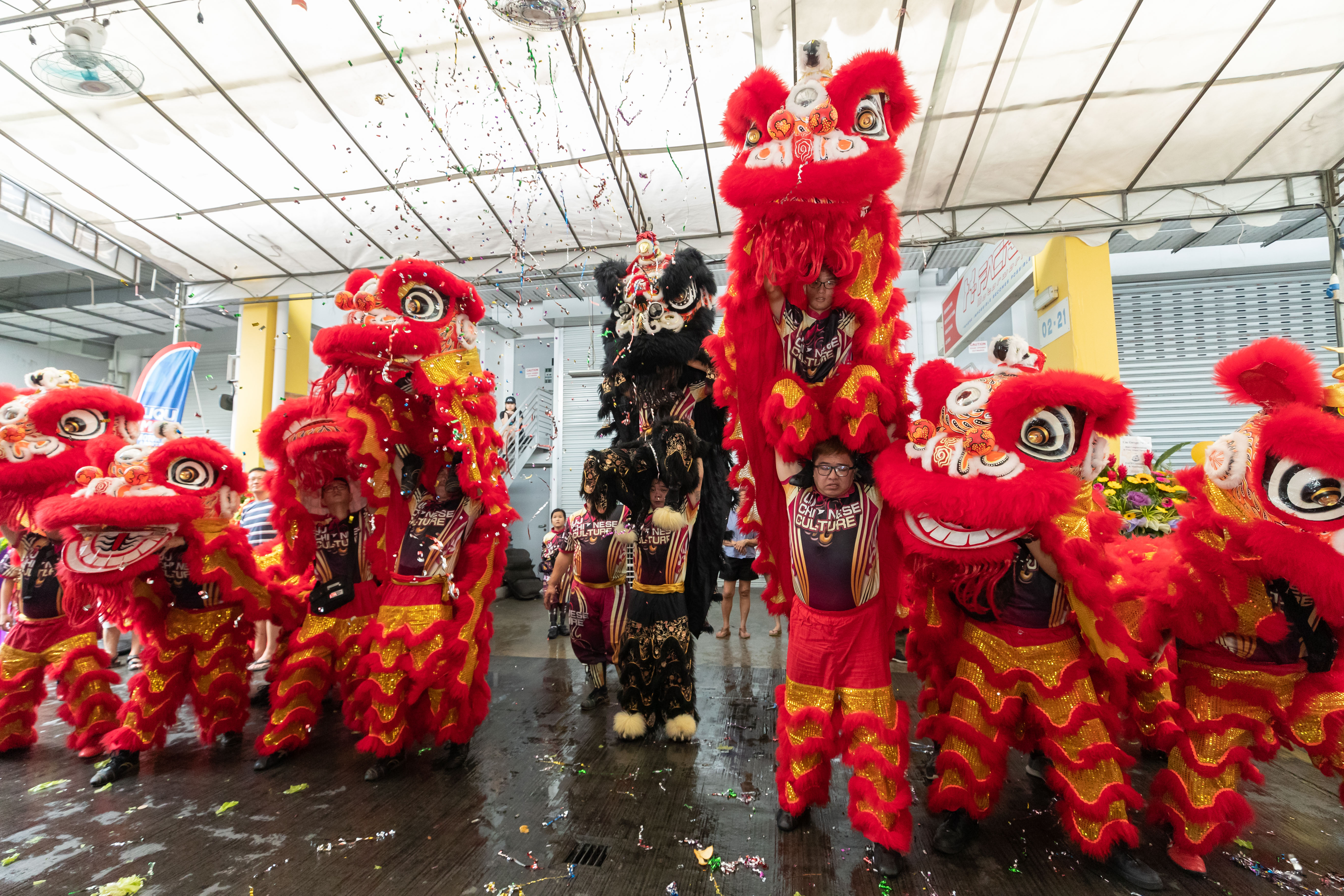 统一 Lion Dance Troupe