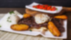 One of the dishes at Pisco Peruvian Cuisine.
