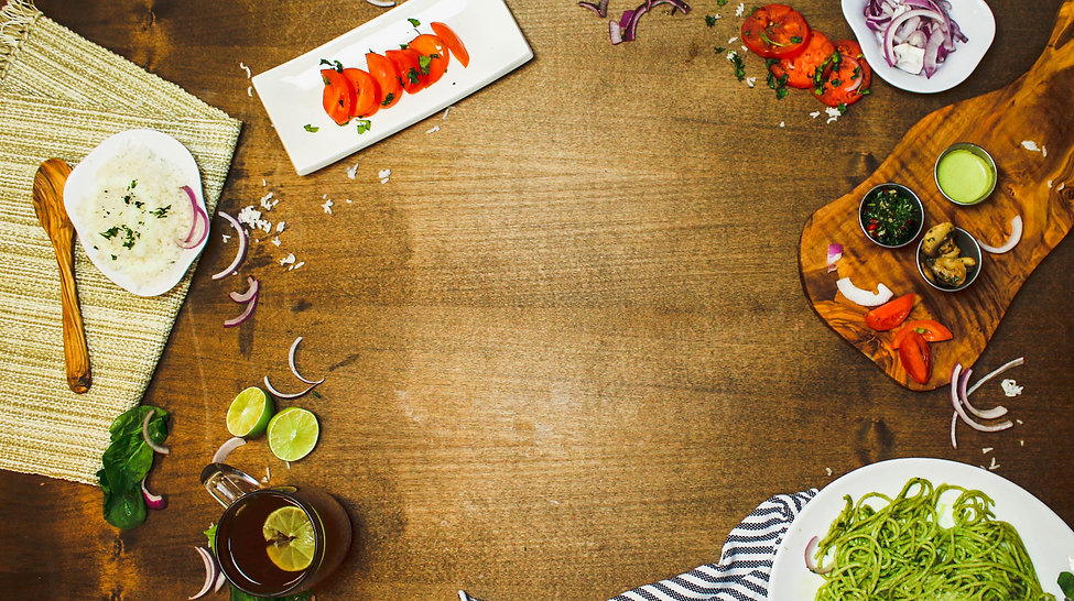 Image of a table with ingredients onit.