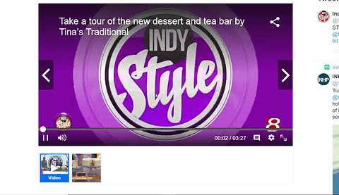 Dessert Bar from Tina's Traditonal