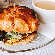 Deluxe Coronation Chicken Sandwich