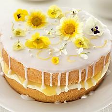 Lemon Elderflower wedding cake