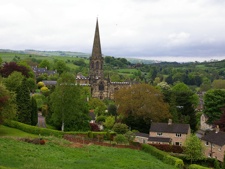 The Village Of Bradley, Near Ashbourne, Derbyshire