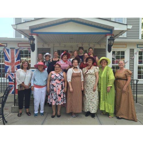 Jane Austen Garden Party