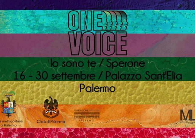 One Voice Palermo  - Leoluca Orlando - S
