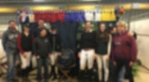 Curry Stables team at Royal Manitoba Winter Fair