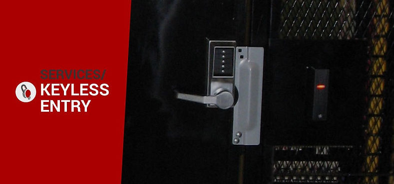 Redecopp Security keypad locks installatio