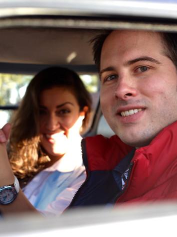 Back to the Future (Engagement Photoshoot)