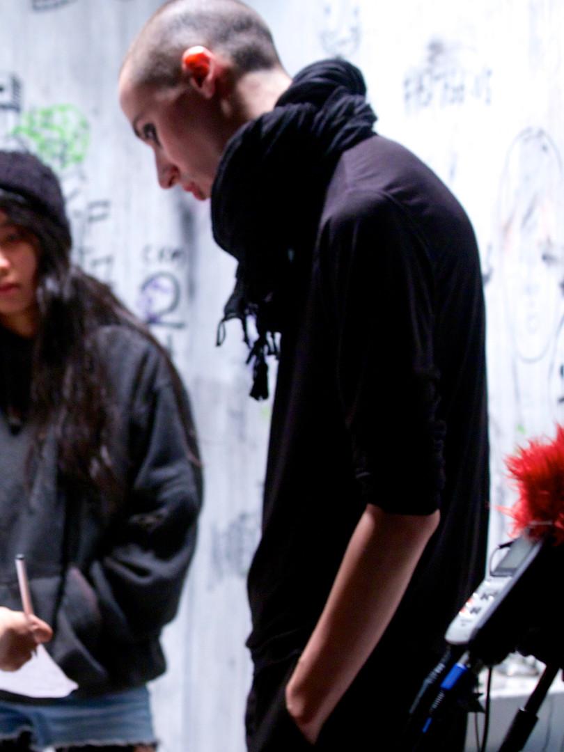 Blood Orphan (Short Film) - BTS Photos
