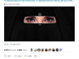 Le tweet copié de Ford Middle East pour l'autorisation de conduite des femmes en Arabie Saoudite