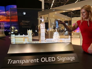 LG présente le futur de l'affichage numérique