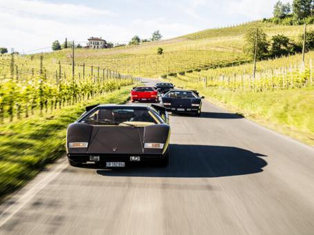 Lamborghini: retour de la légendaire Countach