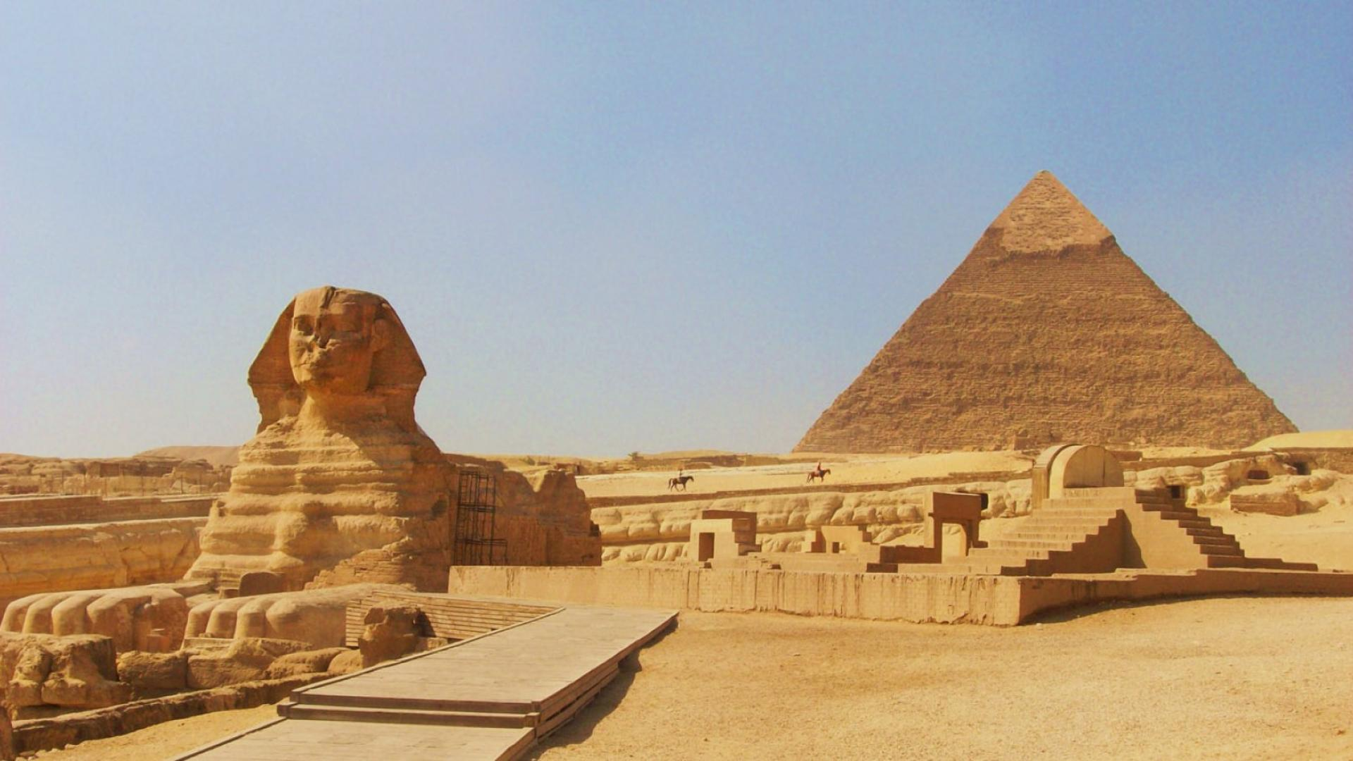 egypte-pyramides-Sphinx-Gizeh