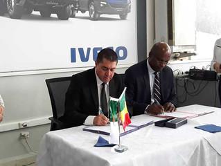 IVAL signe un mémorandum pour une représentation au Mali de ses véhicules IVECO