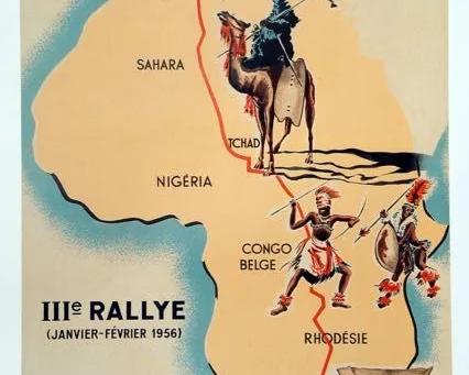 La Saga du Rallye Alger - Le Cap (1951 - 1961)