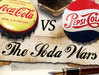 COCA-COLA vs PEPSI-COLA : la guerre des bulles par la pub (partie 1/2)