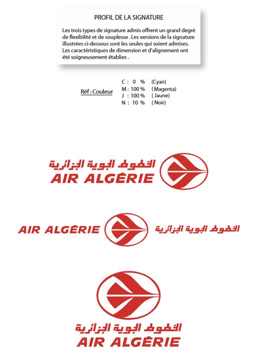 Charte logo Air Algerie