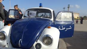 Exposition des voitures historiques de la Police Nationale aux Sablettes d'Alger