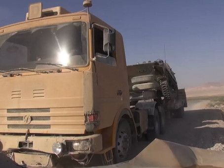 Un SONACOME TB 350 aux mains de DAESH - 2005