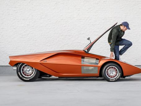 Lancia Stratos HF Zero : 1970