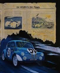 Les Renault 4cv aux 24 h. du Mans 1951