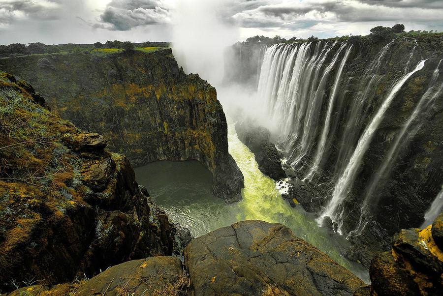 Les chutes Victoria, Zimbabwe