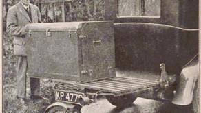 ''Remorque mono-roue'' : Solution de gain de place- 1935