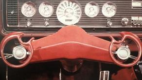 Le système expérimental de direction par torsion du poignet Ford Wrist Twist (1965)