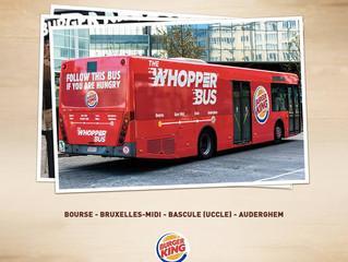Pour créer le buzz, Burger King créé le bus pour son resto