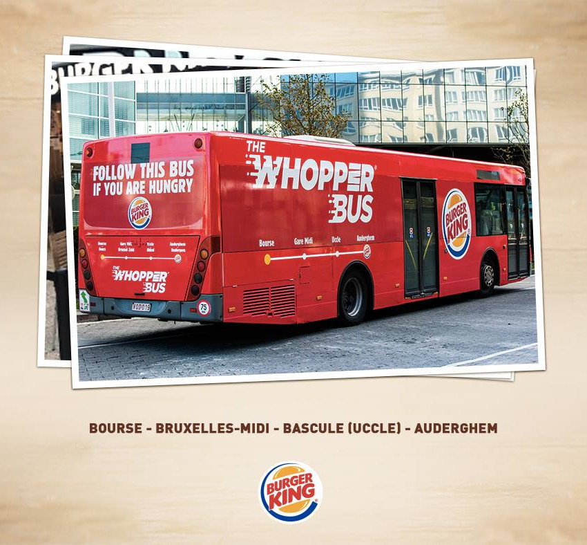 Bus Burger King