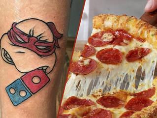 Domino's Pizza : jeu blanc sur l'offre de pizza gratuites contre un tatouage