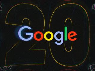 GOOGLE : 20 ans déjà