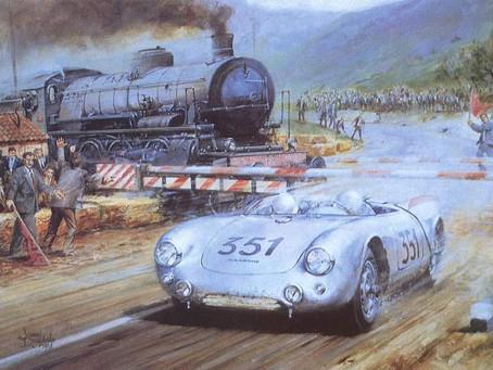Porsche 550 RS Spyder 1954. « Lucky Hans »