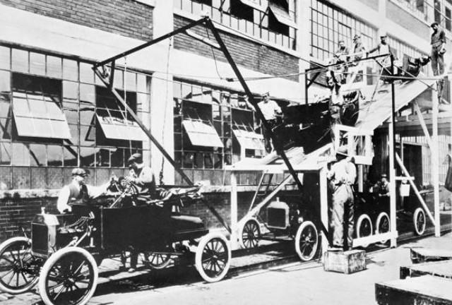 Chaine de montage Ford