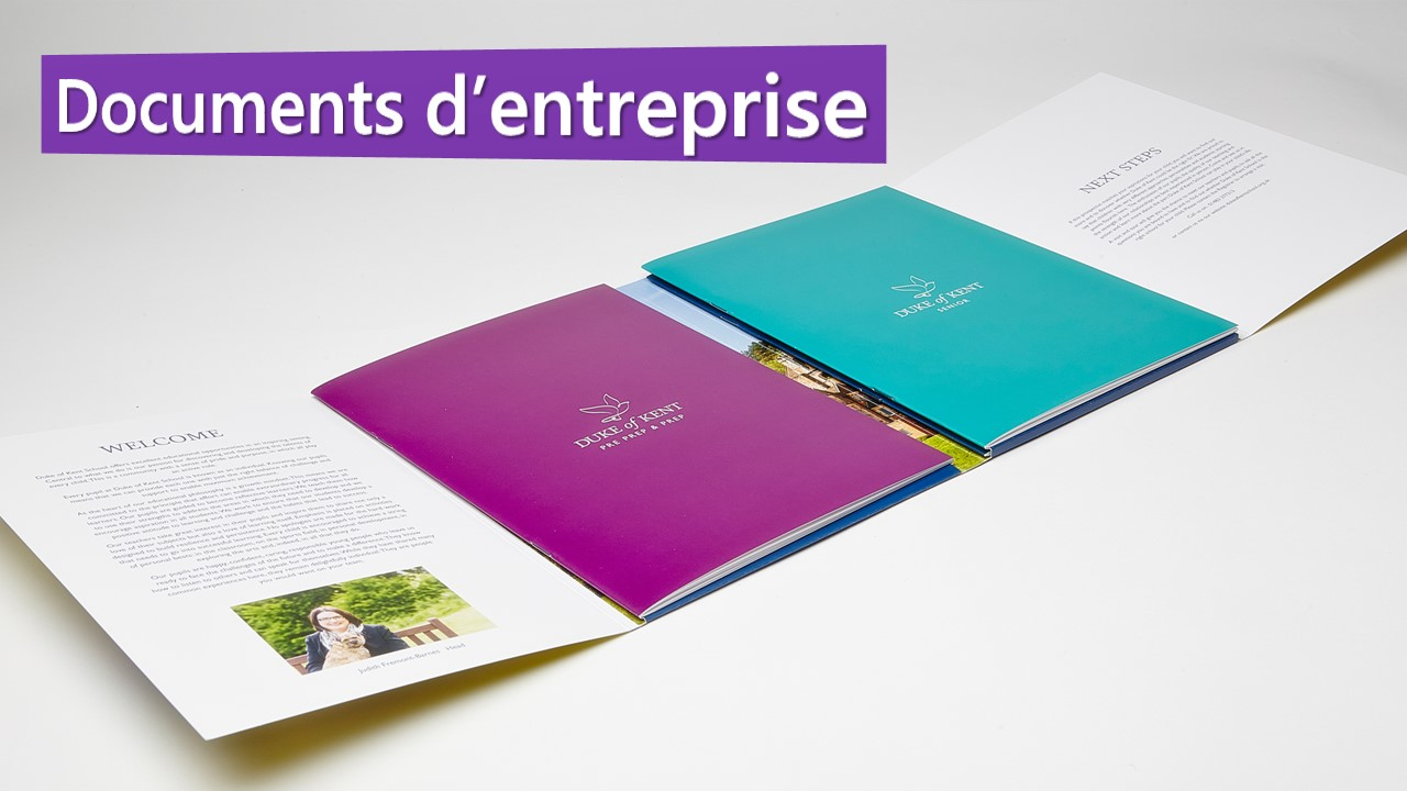Documents d'entreprise