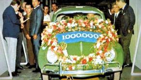 VW Brazil : le million produit le 08 juillet 1970