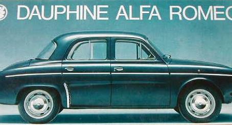 Les Alfa Romeo Dauphine et R4 L: les françaises transalpines !