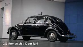 Volkswagen Cox (Brezel-Käfer) Rometsch 4 portes Taxi 1952