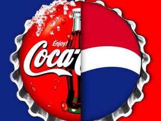 COCA-COLA vs PEPSI-COLA : la guerre des bulles par la pub (partie 2/2)
