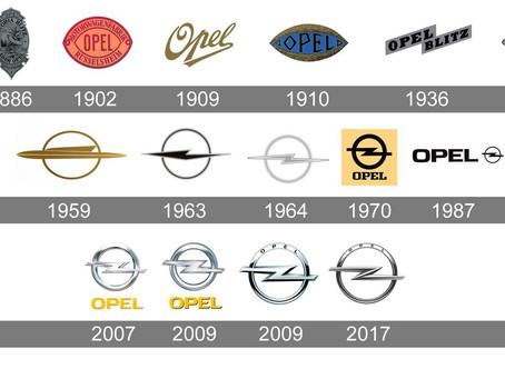 L'histoire du logo Opel