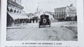 Les véhicules de nettoiement des années 30 qui rendent Alger la Capitale la plus propre du monde