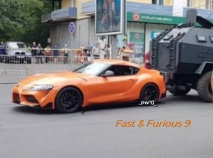 La Supra Orange de revivra dans Fast & Furious 9