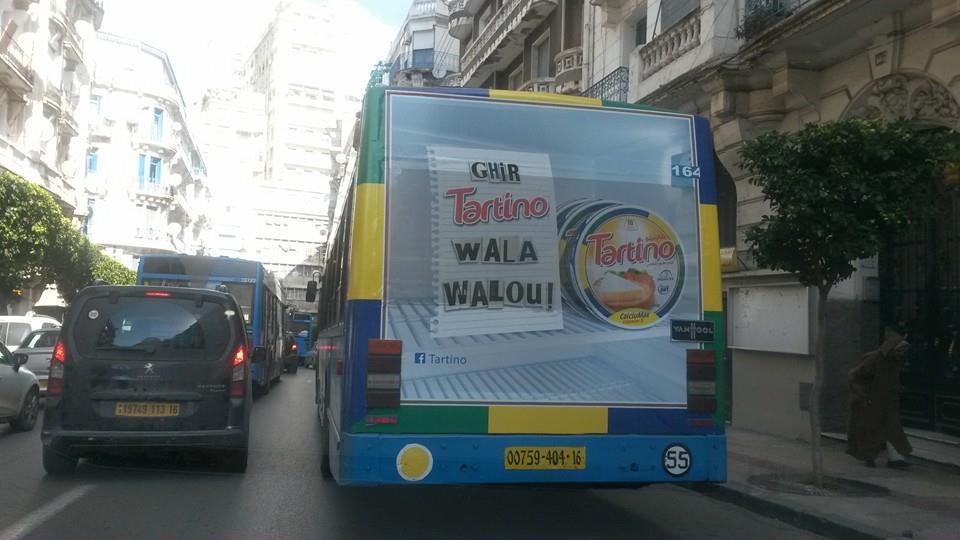 Affichage sur bus