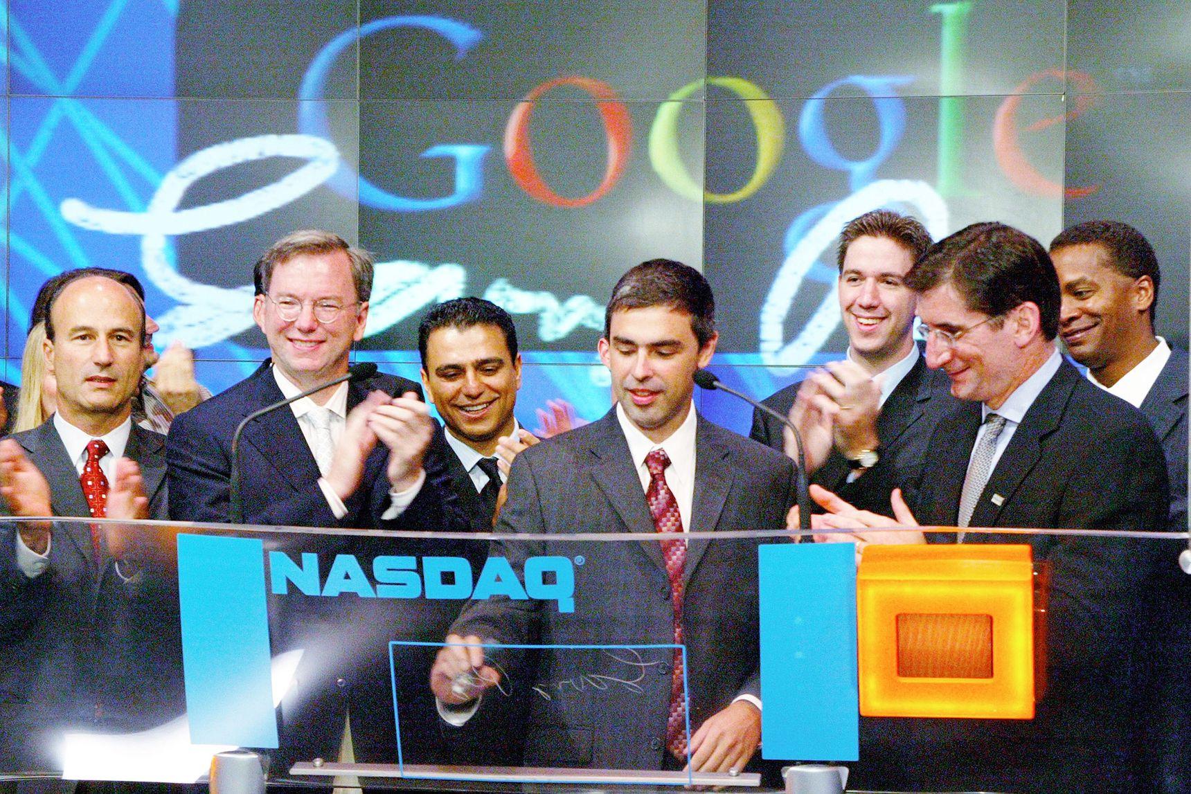 Google en bourse