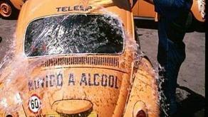Les VW Beetle brésiliennes (Fusca) à Álcool