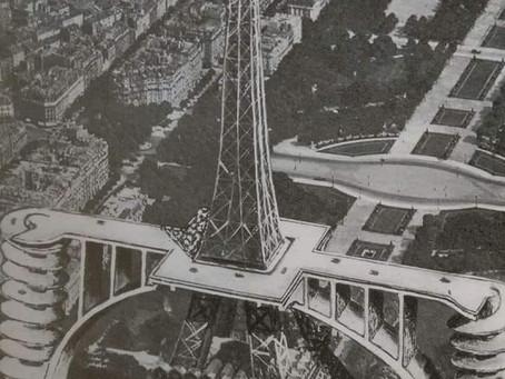 La Tour Eiffle : le projet d'accéder au deuxième étage en voiture
