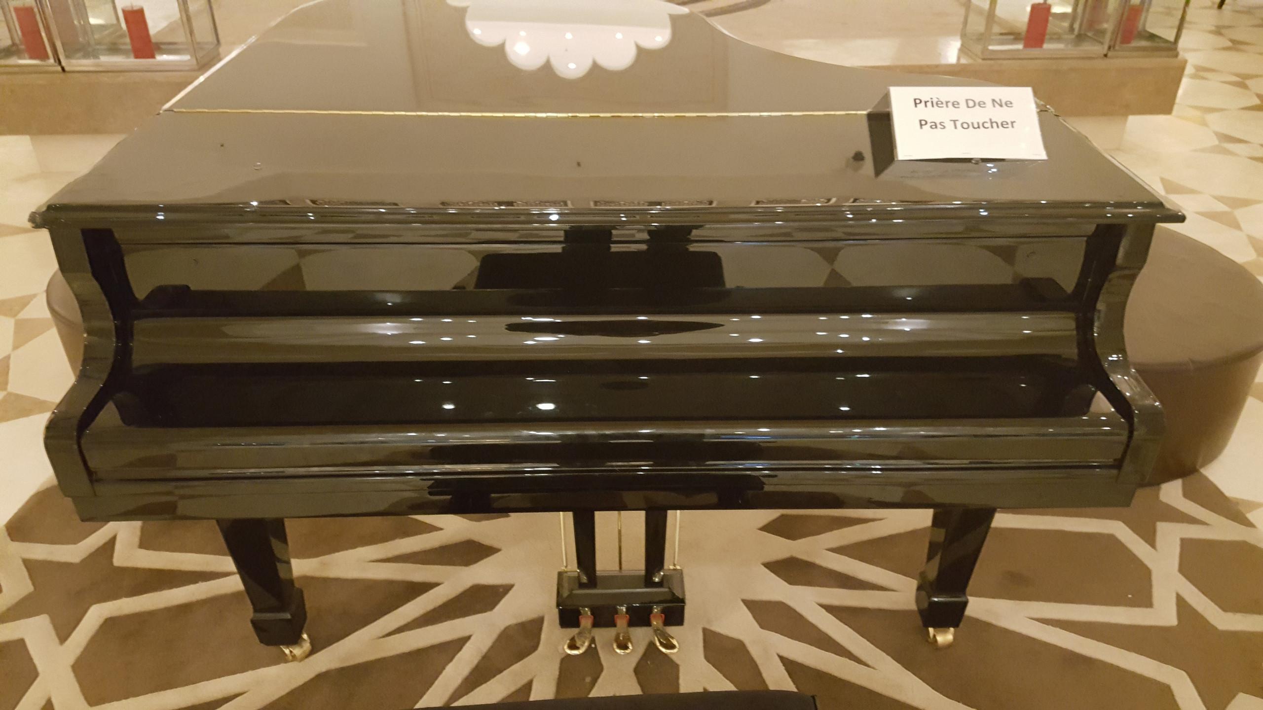 Piano au Hall d'entrée