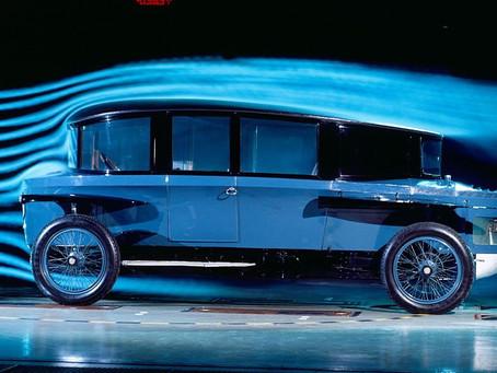 Rumpler Tropfenwagen : l'avancé aérodynamique