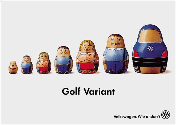 Affiche VW 1994